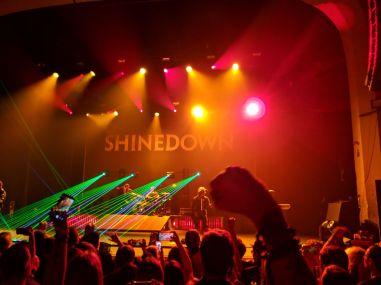 Shinedown Lazers